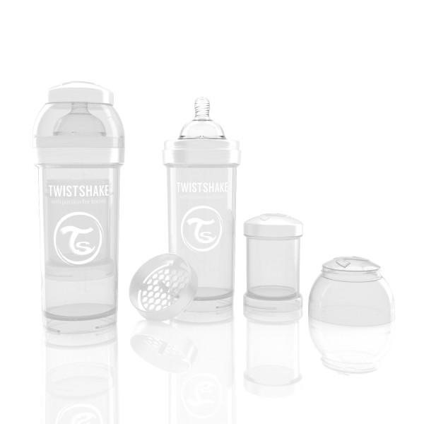 TWISTSHAKE 260 ml weiß Anti-Kolik Flasche