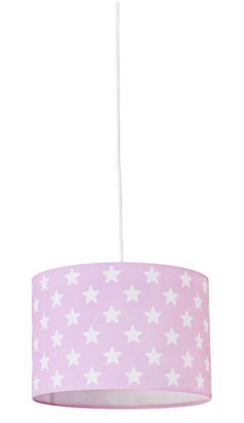 Deckenlampe mit weißen Sternen in 3 Farben