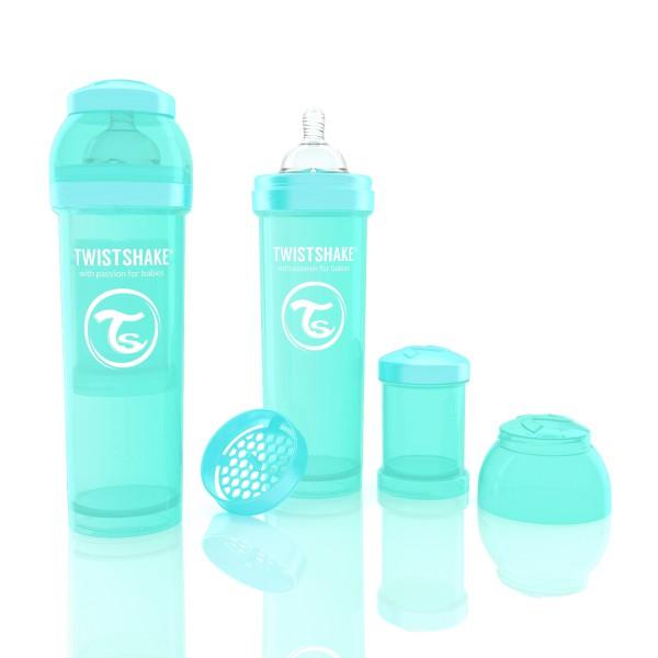 TWISTSHAKE 330 ml türkis Anti-Kolik Flasche