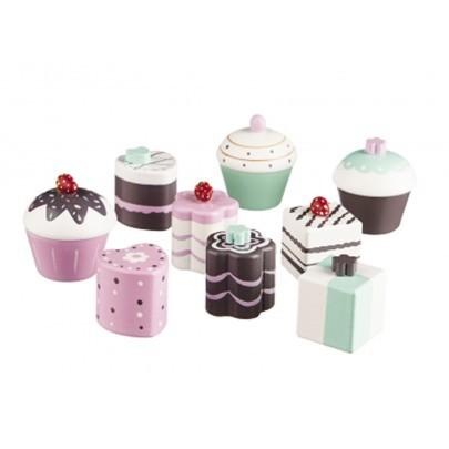 9er Set Cupcakes für Spielküche