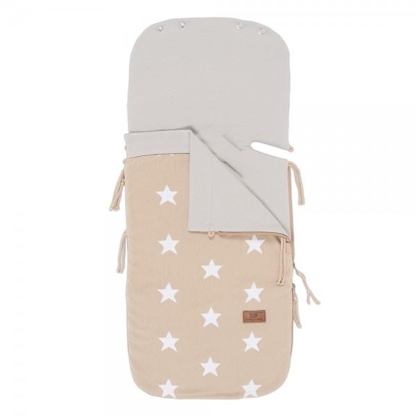 Sommerfußsack STAR für Babyschale/Kinderwagen 4 Farben
