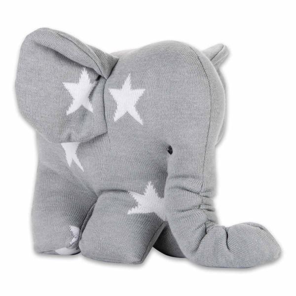Kuschelstrick-Elefant STAR 8 Farben