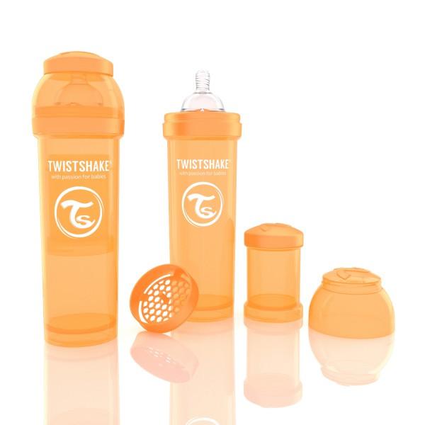 TWISTSHAKE 330 ml orange Anti-Kolik Flasche