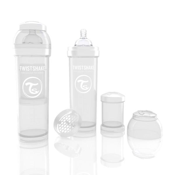 TWISTSHAKE 330 ml weiß Anti-Kolik Flasche