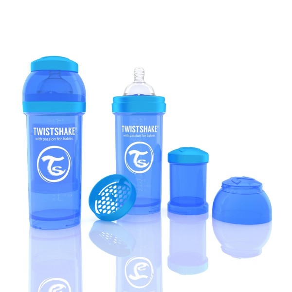 TWISTSHAKE 260 ml blau Anti-Kolik Flasche