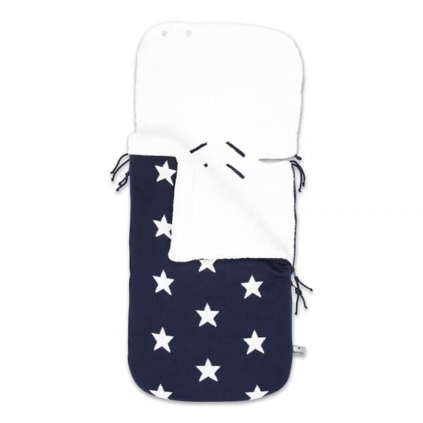 Fußsack STAR für Babyschale/Kinderwagen 7 Farben
