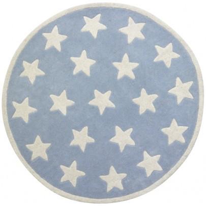 Wollteppich STAR rund 120 cm in 3 Farben